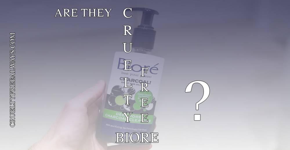 Are Biore Products Cruelty-Free?