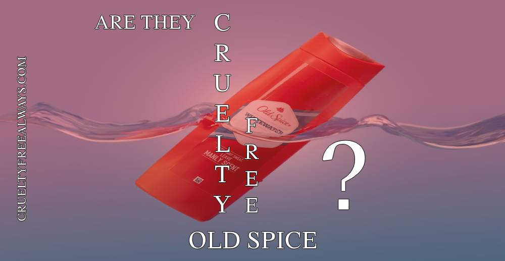 Are Old Spice Products Cruelty-Free?